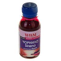 Пурпурные чернила wwm sirena для epson 100г magenta сублимационные (es01/m-2)