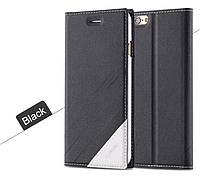 Чехол-Книжка для iPhone 5/5S Infinity Floveme черный