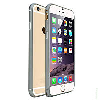 Бампер для iPhone 6/6s металл COTEetCl Metal Ultra Thin 0,5mm черный