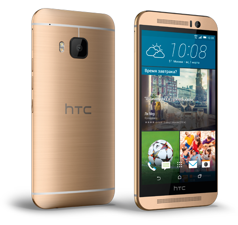 Смартфон HTC One (M9) 32GB (Gold on Gold)