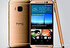 Смартфон HTC One (M9) 32GB (Gold on Gold), фото 2