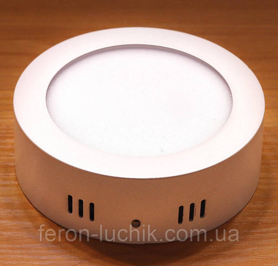 Светильник светодиодный накладной Feron AL504 6w 5000К (LED панель)