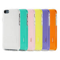 Накладка для iPhone 6/6s пластик Rock Jello Series Фіолетовий