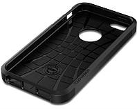 Накладка для iPhone 6/6s пластик SGP черный