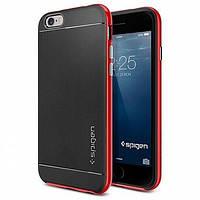 Накладка для iPhone 6/6s пластик Spigen Case Neo Hybrid Series красный (SGP11032)