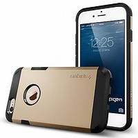 Накладка для iPhone 6/6s пластик Spigen Case Tough Armor Series Champagne Gold (SGP10970)