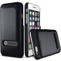 Накладка-слайд для iPhone 6/6s пластик Verus Slim Hard Slide черный (VSSHSL3)
