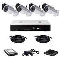 Комплекты ip-видеонаблюдения