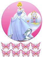 Вафельная картинка для тортов Принцессы 21