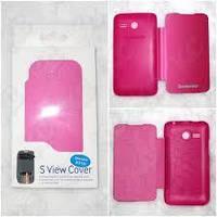 Чехол-Книжка для Lenovo A316i Flip Cover розовый