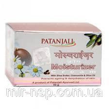 Увлажняющий натуральный крем для лица с маслом Ши Патанджали 50г очень классный