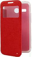 Чехол-Книжка для Lenovo S60 Book Cover with Window красный