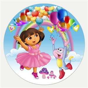 Вафельная картинка для тортов Принцессы 25