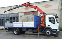 Аренда крана манипулятора Renault 10 тонн в Днепропетровске