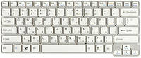 Клавиатура для ноутбука SONY (VGN-CW series) rus, white, фото 1