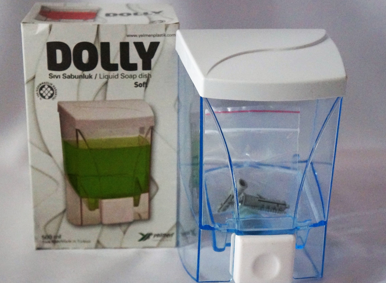 Дозатор для жидкого мыла 500 мл DOLLY Soft, Турция