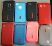 Накладка для Nokia 308 Asha силикон Capdase Soft Jacket2 XPOSE розовый