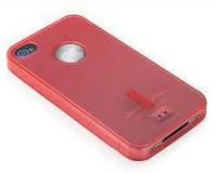 Накладка для Nokia 305/306 Asha силикон Capdase Soft Jacket2 XPOSE красный (Силикон)