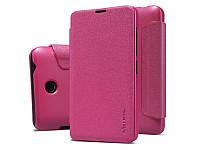 Чехол-Книжка для Microsoft Lumia 540 (Nokia) Nillkin Sparkle Series розовый