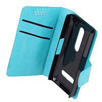 Чехол-книжка для Nokia 301 PRC Синий