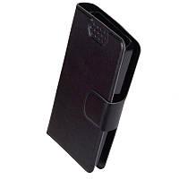 Чехол-книжка для Nokia 301 PRC Черный