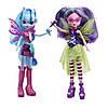 Набор из 2 кукол Эквестрии Соната Даск и Ария Блэйз My Little Pony Equestria Girls  Aria Blaze and Sonata Dusk