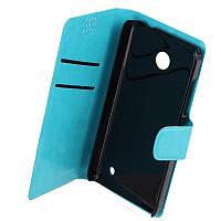 Чехол-Книжка для Nokia Lumia 630 PRC синий