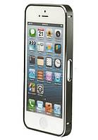 Бампер для Samsung G355H/G360H Galaxy Core Prime Duo Bumper Metalic Slim черный