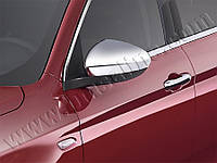 Fiat Tipo 2016+ гг. Накладки не зеркала (2 шт, пласт)