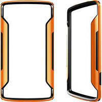Бампер для Samsung G920 Galaxy S6 пластик Nillkin Border series оранжевый