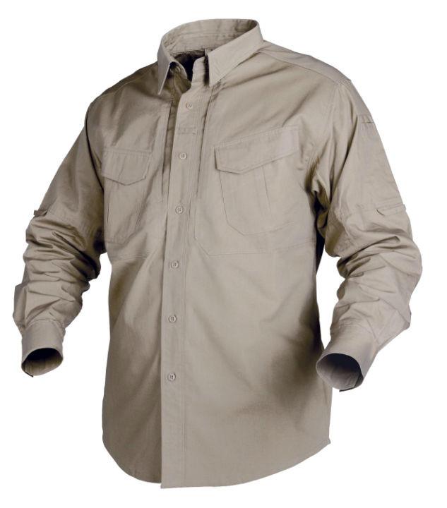 Рубашка Defender Helikon с длинным рукавом - Khaki