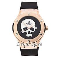 Часы Hublot Classic Fusion Skull Bang Quartz Black-Gold-White SM-1012-0147