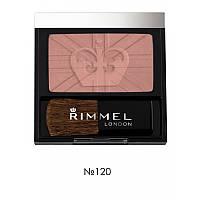 Румяна - Rimmel Lasting Finish Soft Colour Blush (Оригинал) №120 (Pink Rose)