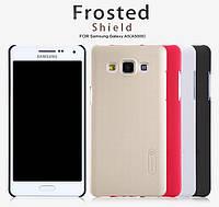 Накладка для Samsung A700H Galaxy A7 пластик Nillkin Matte черный -6212902