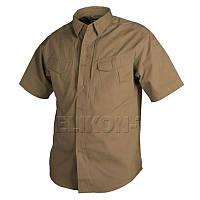 Рубашка Defender Helikon с коротким рукавом - Coyote