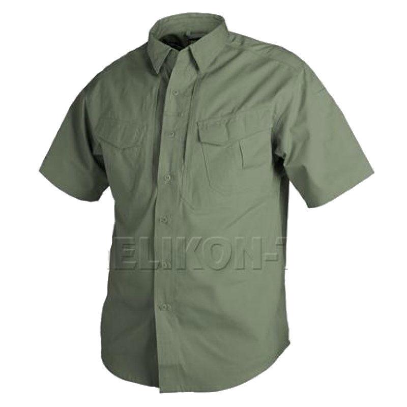 Рубашка Defender Helikon с коротким рукавом - Olive
