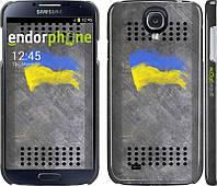 Накладка для Samsung I9500 Galaxy S4/ Qumo Quest 503 пластик Endorphone Щит 1 матовая (985m-13)