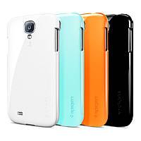 Накладка для Samsung I9500 Galaxy S4/ Qumo Quest 503 пластик SGP Ultra Thin Air Series прозрачный (+пленка)