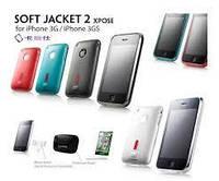 Накладка для Samsung I9500 Galaxy S4/ Qumo Quest 503 силикон Capdase Soft Jacket2 XPOSE белый