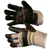 Перчатки рабочие кожанные комбинированные