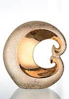 Декоративная статуэтка керамическая из узорчато-золотой коллекции Пламя.