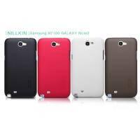 Накладка для Samsung N7100 Galaxy Note 2 пластик Nillkin Matte белый (+пленка)