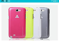 Накладка для Samsung N7100 Galaxy Note 2 пластик Rock NEW NakedShell series белый