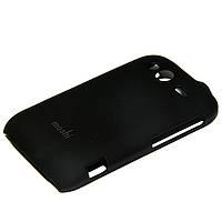 """Накладка для Samsung S7262 Galaxy Star Plus Duos пластик Moshi iGlaze""""Snap on Case"""" черный"""