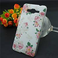 Накладка для Samsung S7262 Galaxy Star Plus Duos пластик 0,5mm Infinity Glamour роза