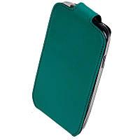 Чехол-Книжка для Samsung G313HU Ace 4 Duos Era бирюзовый (j105h)
