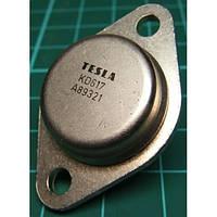 KD617 (TESLA) транзистор PNP (10А 80В) 70W (ТО3)