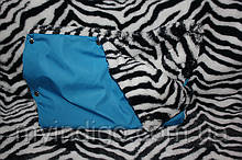 Муфта для рук синя зебра