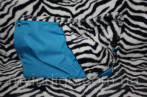 Муфта для рук синяя зебра