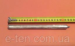 Анод магниевый Италия  Ø16мм / L=210мм / резьба M4*10мм   оригинал